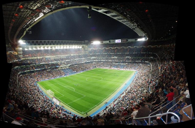 Santiago Bernabéu Stadyumu